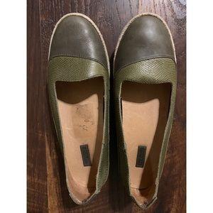 OluKai Shoes - OLUKAI | Lino Leather Slip On